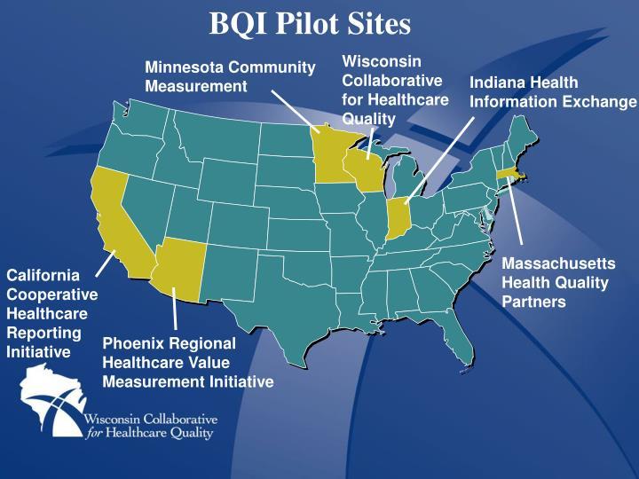 BQI Pilot Sites