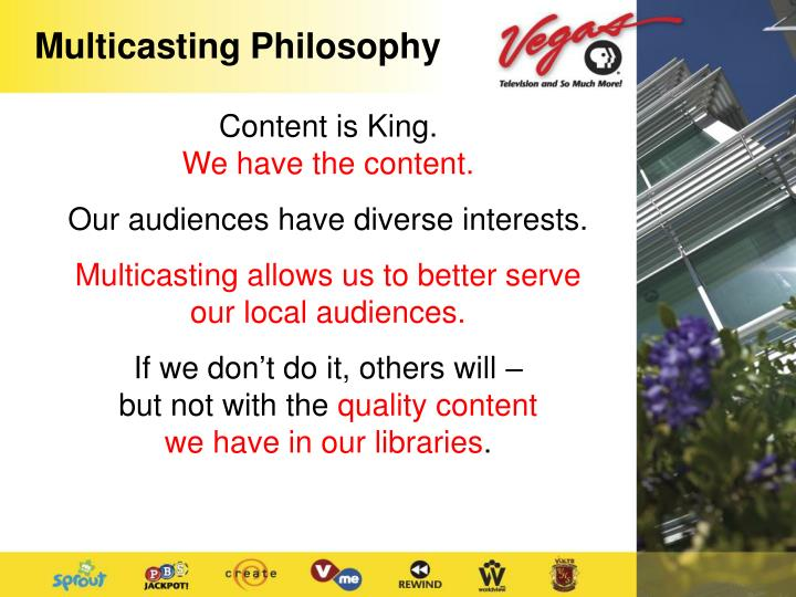 Multicasting Philosophy