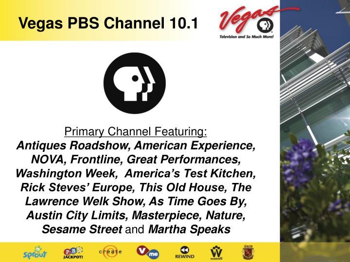 Vegas PBS Channel 10.1