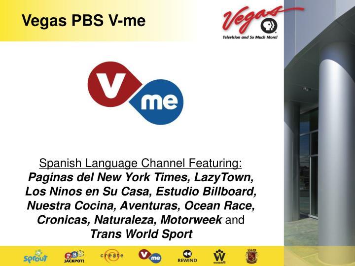 Vegas PBS V-me