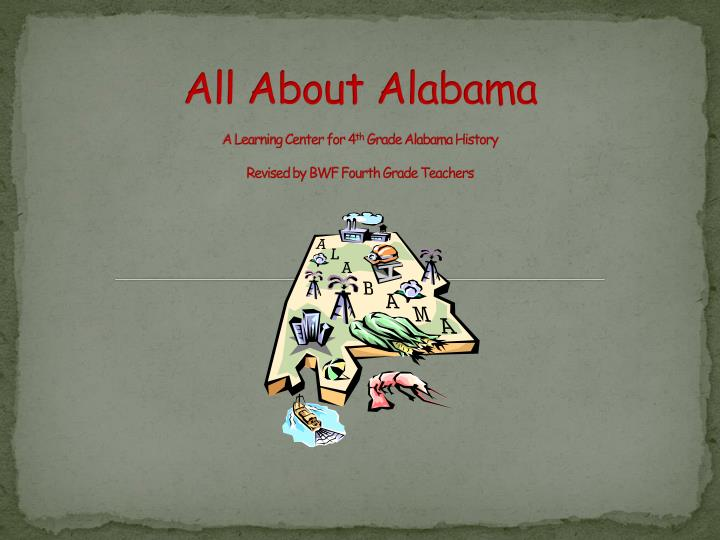 All About Alabama