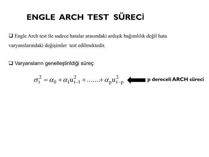 ENGLE  ARCH  TEST  SÜRECİ