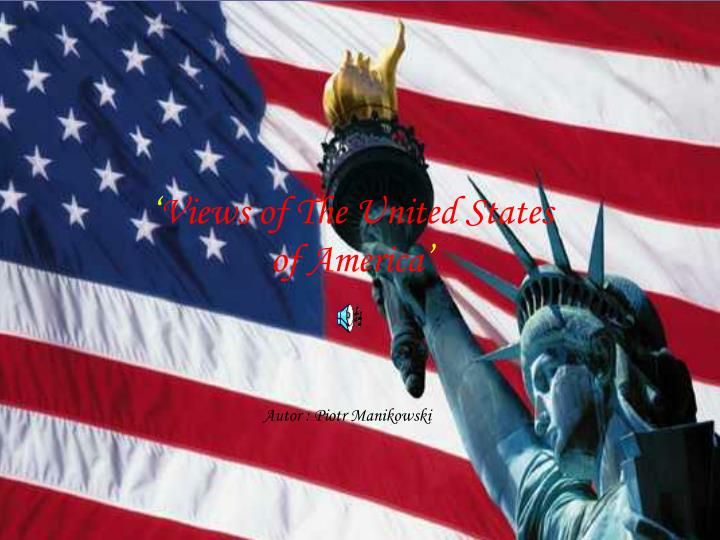 Vieves of the united states of america