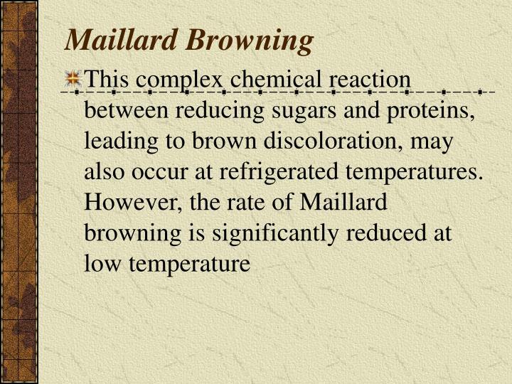 Maillard Browning