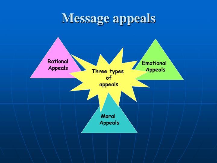 Message appeals