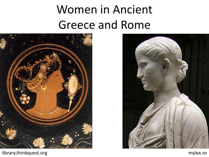 women in ancient greece and ancient rome essay