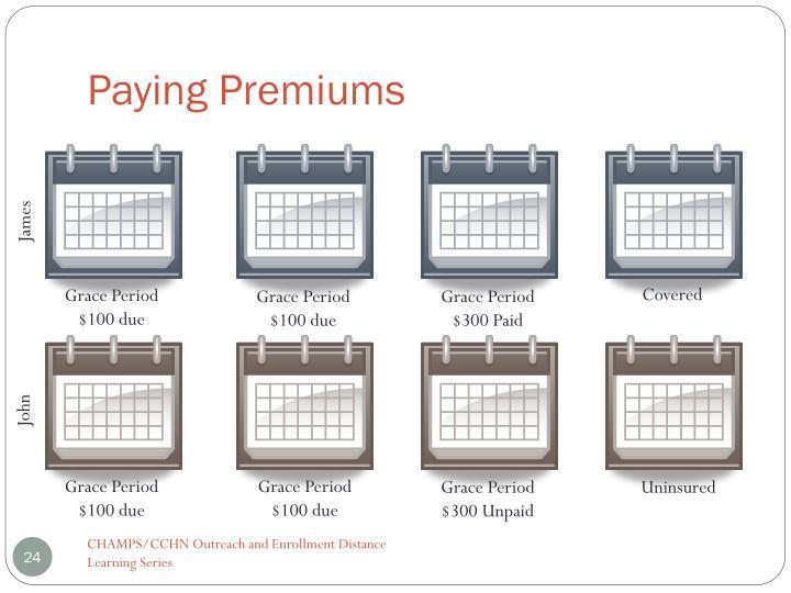 Paying Premiums