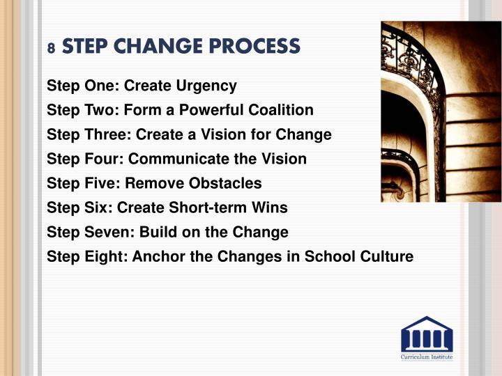 8 Step Change Process
