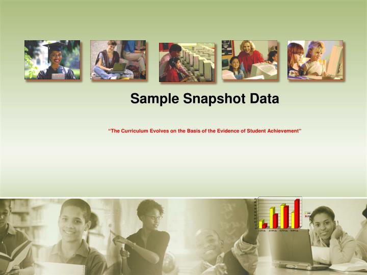 Sample Snapshot Data