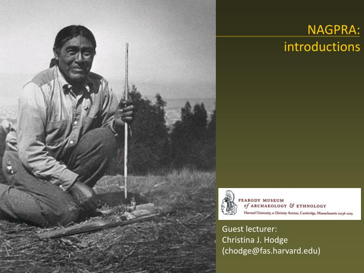 nagpra introductions n.