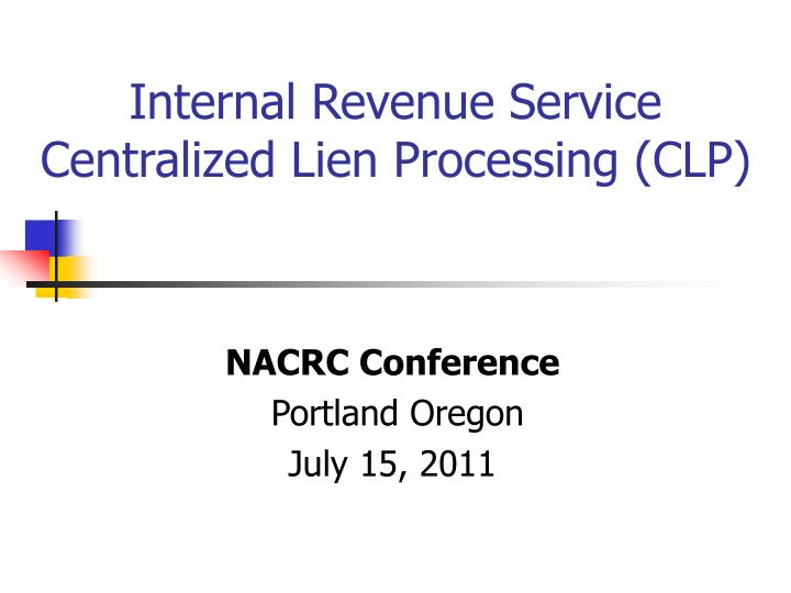 NACRC Conference