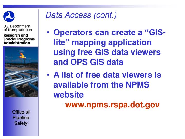 Data Access (cont.)