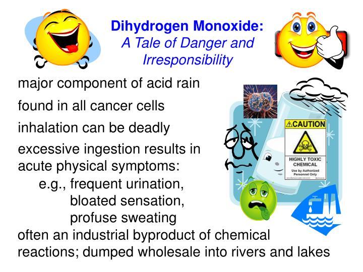 Dihydrogen Monoxide: