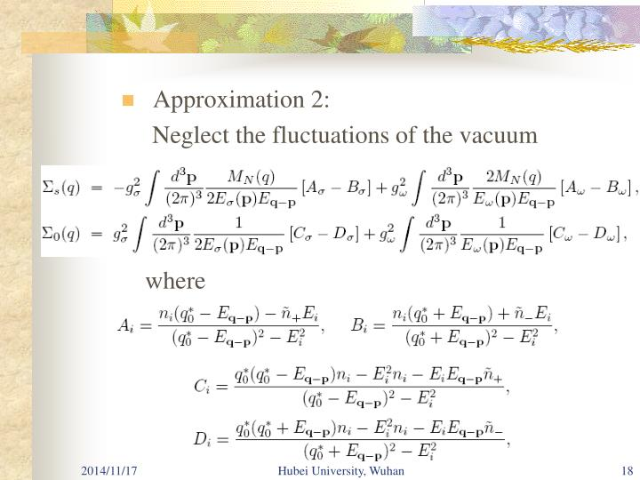 Approximation 2: