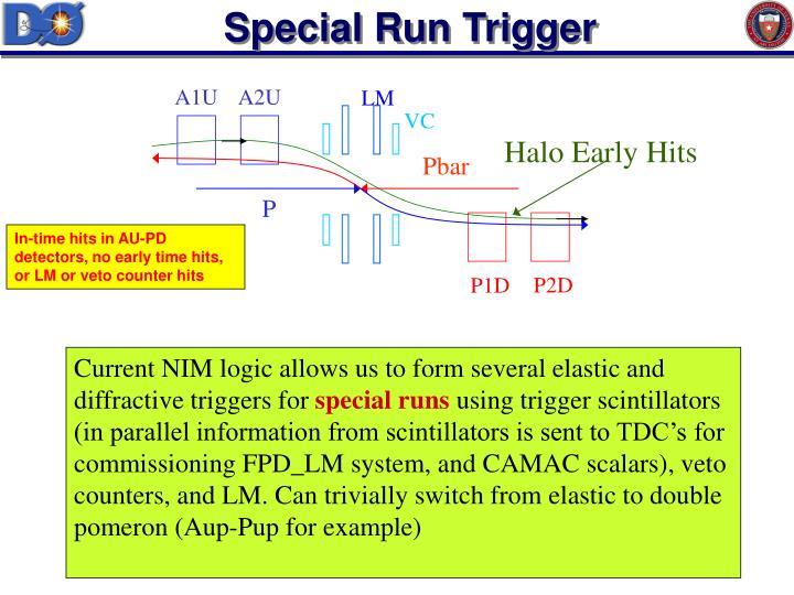 Special Run Trigger
