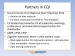 partners in cqi