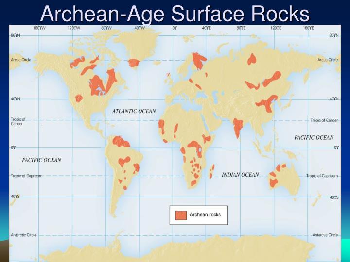 Archean-Age Surface Rocks