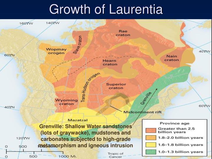Growth of Laurentia