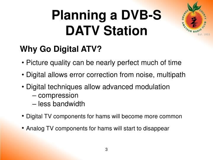 Planning a dvb s datv station1