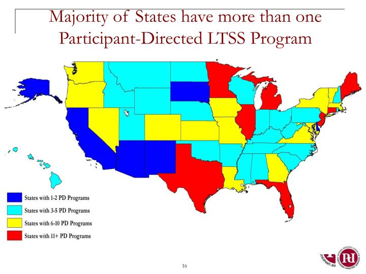 Majority of States have more than one Participant-Directed LTSS Program
