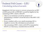 federal pell grant leu calculating reduced awards3