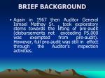 brief background4