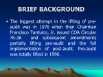 brief background5