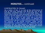 minutes continued1