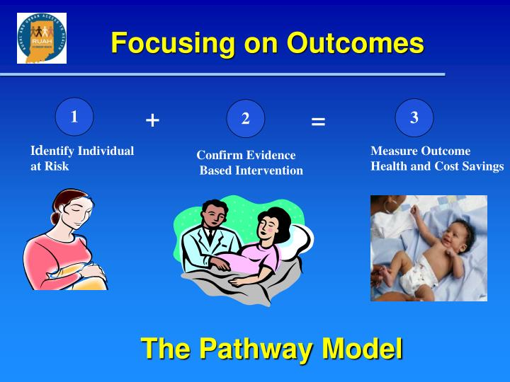 Focusing on outcomes