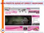 non profits good at direct response