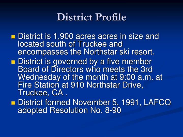 District Profile