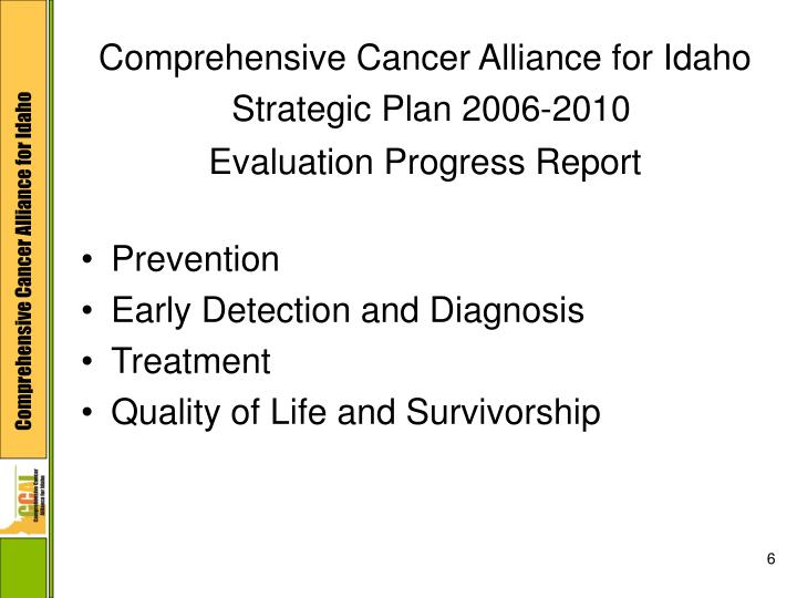 Comprehensive Cancer Alliance for Idaho