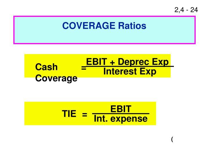 EBIT + Deprec Exp