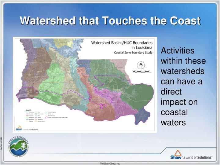 Watershed that Touches the Coast
