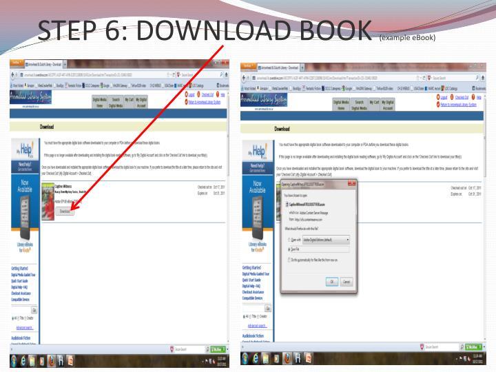 STEP 6: DOWNLOAD BOOK