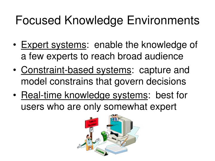 Focused Knowledge Environments