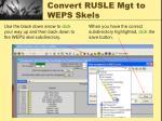 convert rusle mgt to weps skels4