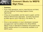 convert skels to weps mgt files11
