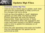 update mgt files4