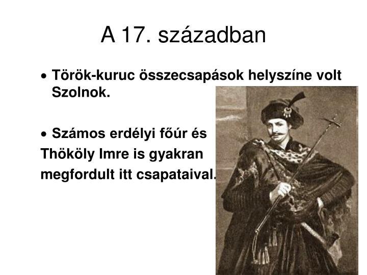 A 17. században