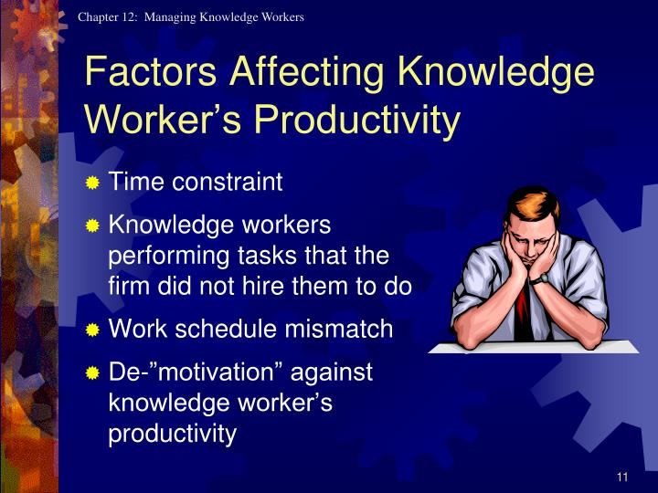 Factors Affecting Knowledge Worker's Productivity