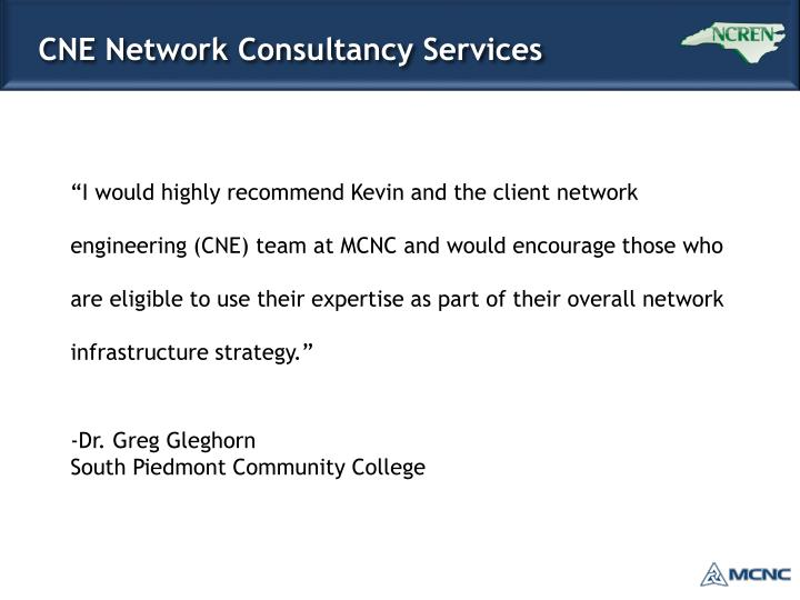 CNE Network Consultancy Services