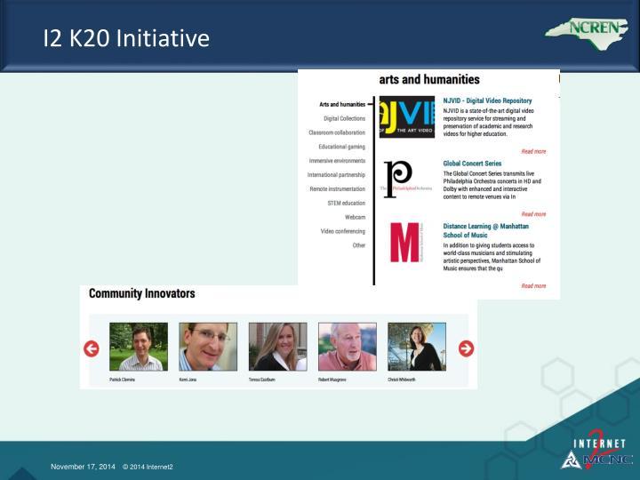 I2 K20 Initiative
