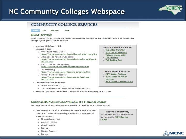 NC Community Colleges