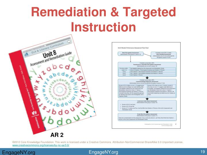 Remediation & Targeted Instruction