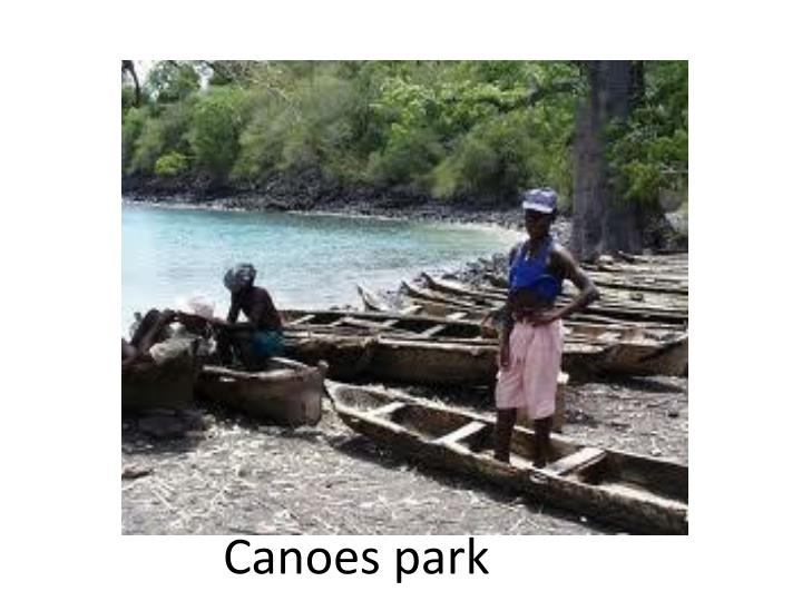 Canoes park
