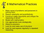 8 mathematical practices1