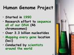 human genome project1