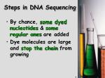 steps in dna sequencing1