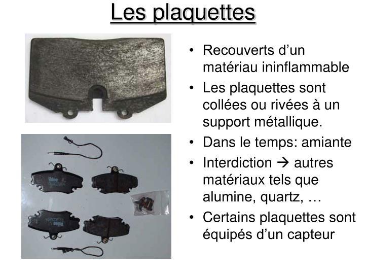 Les plaquettes